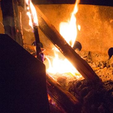 first campfire