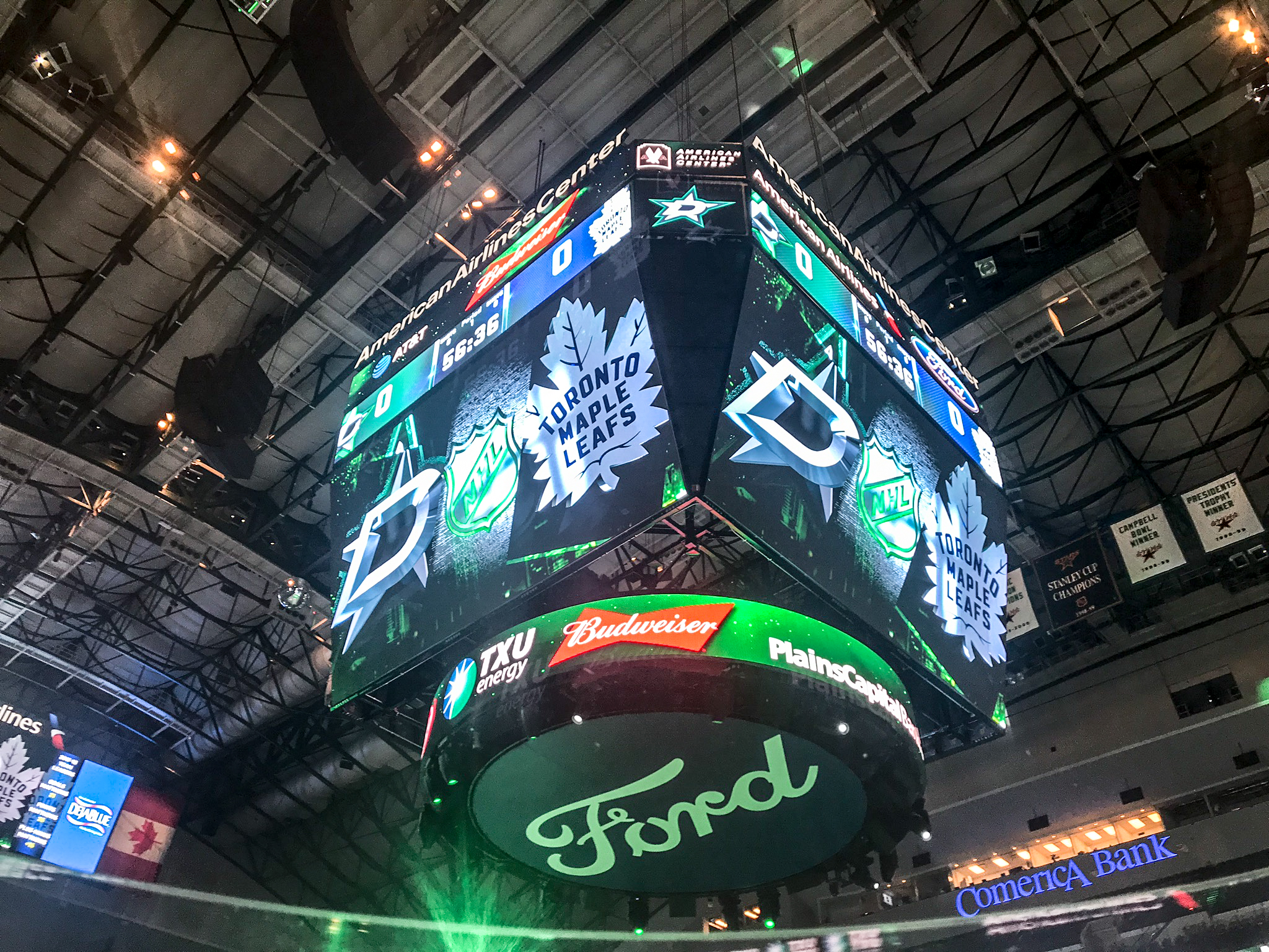 Dallas Stars Score Board